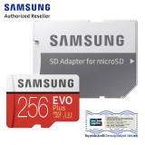 SAMSUNG MICRO SD W/ADPT 256GB EVO PLUS